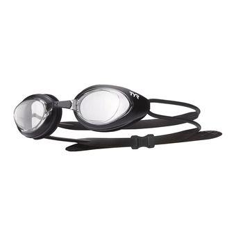 Lunettes de natation BLACKHAWK RACING black/clear-matte black