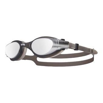 Gafas de natación VESI MIRROR silver/black/black