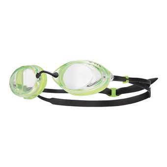 Lunettes de natation TRACER RACING clear/green/black