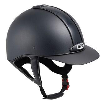 Gpa NEW CLASSIC 2X - Casco de equitación black