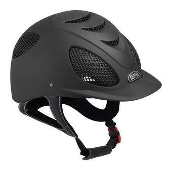 Gpa SPEED AIR 2X - Casco de equitación black/black