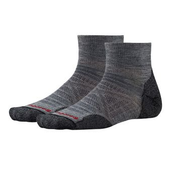 Smartwool PHD OUTDOOR LIGHT MINI - Socks - medium gray