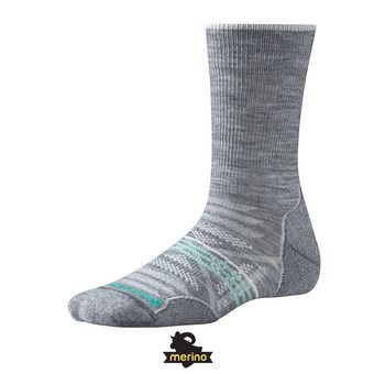 Chaussettes femme PHD OUTDOOR LIGHT CREW light gray