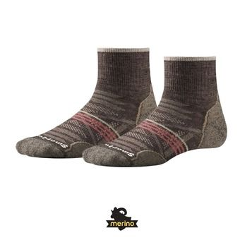 Chaussettes femme PHD OUTDOOR LIGHT MINI taupe