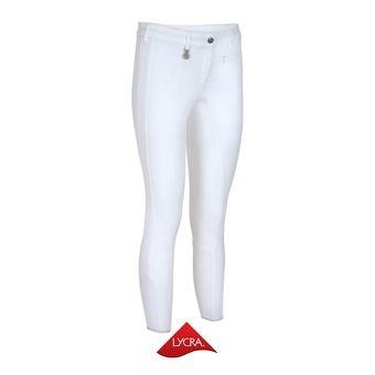 Pikeur LUCINDA - Pantalon fond de peau siliconé Femme blanc