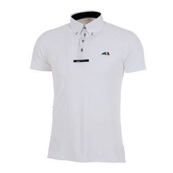 Equiline FOX - Polo concours Homme white