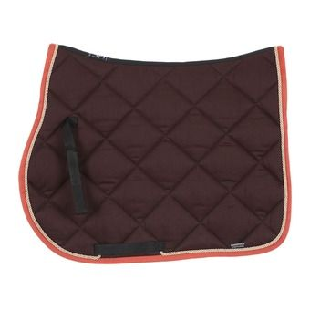 Equiline NEW ROMBO - Tapis mixte brown