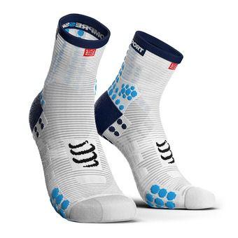 High Rise Socks - RUN PRSV3 white/blue