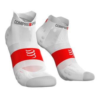 Chaussettes basses PRORACING V3 ULTRALIGHT RUN LOW blanc