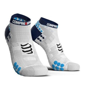 Compressport PRORACING V3 RUN - Calcetines white/blue
