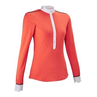Camisa mujer AERIAL coral