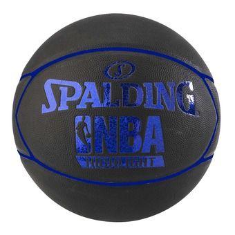 Spalding NBA HIGHLIGHT - Ballon basket noir/bleu