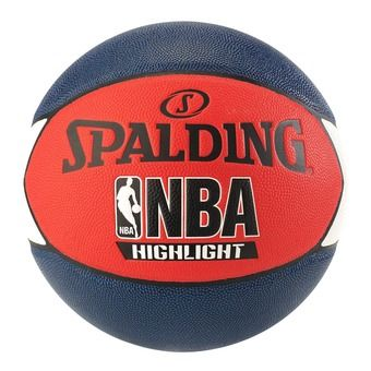 Spalding NBA HIGHLIGHT - Balón de baloncesto azul marino/rojo/blanco