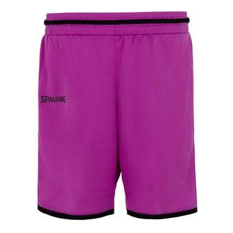 Short femme MOVE violet/noir