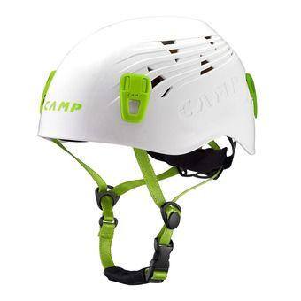 Casco alpinismo TITAN blanco/verde