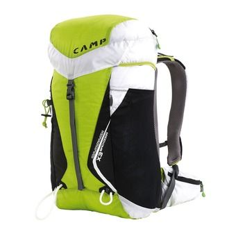 Camp L CAMPACK X3 BACKDOOR 30L - Sac à dos vert/blanc