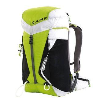 Camp L CAMPACK X3 BACKDOOR 30L - Zaino verde/bianco