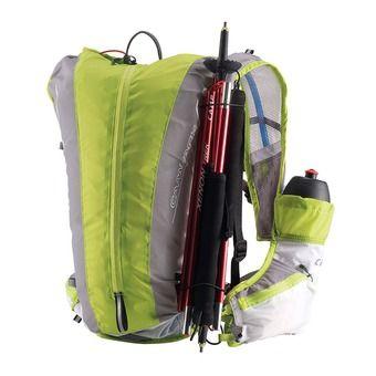 Chaleco de trail 10L LIGHT verde/blanco