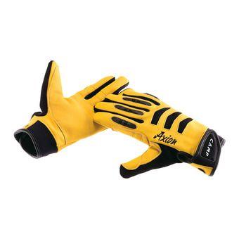 Gants de protection AXION noir/jaune