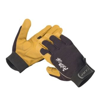 Camp AXION LIGHT - Guantes black/yellow