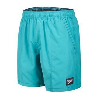 Bañador hombre CHECK TRIM LEISURE green/blue