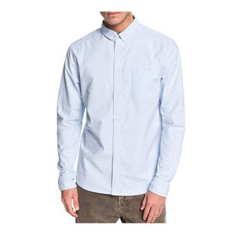 Quiksilver BOTANICAL NIGHTS - Camicia Uomo airy blue