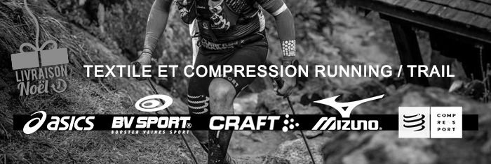 TEXTILE ET COMPRESSION RUNNING/TRAIL