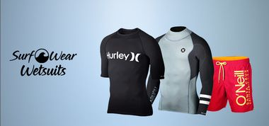 SURFWEAR & WETSUITS