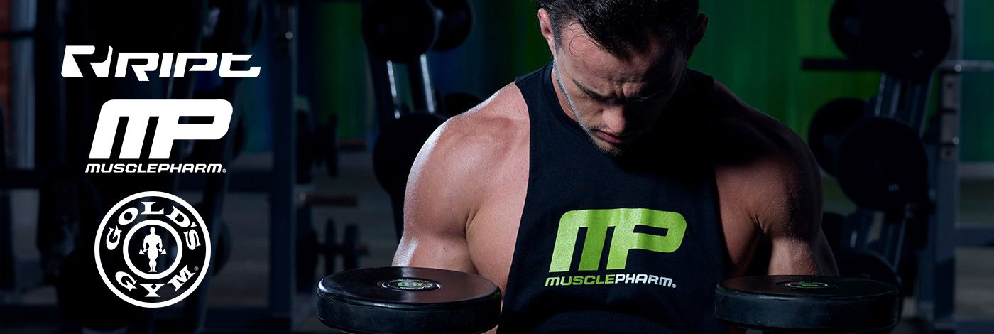 GOLD'S GYM / MUSCLE PHARM / RIPT PERFORMANCE