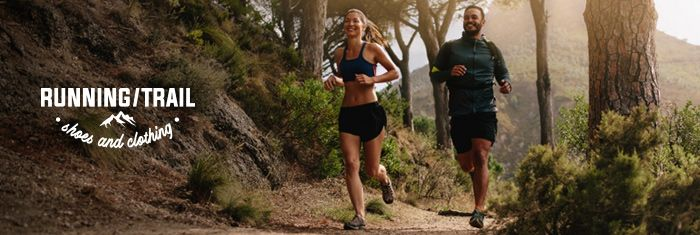 RUNNING/TRAIL SHOES & CLOTHING