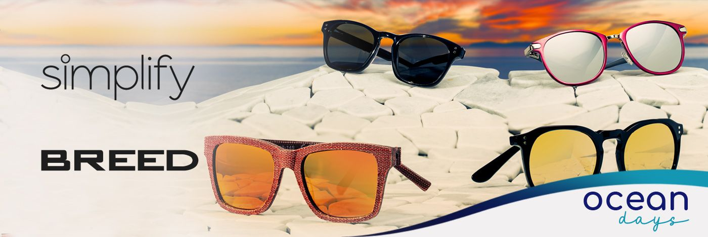 BREED & SIMPLIFY SUNGLASSES