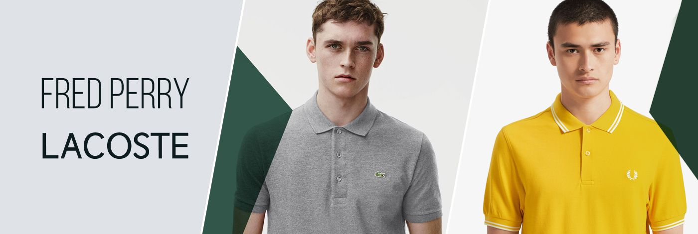 FRED PERRY / LACOSTE